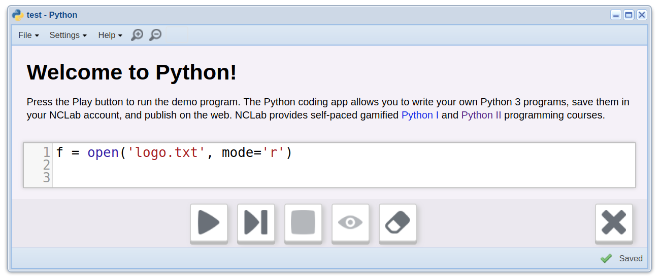 Introduction to Python Programming  Section 13  File